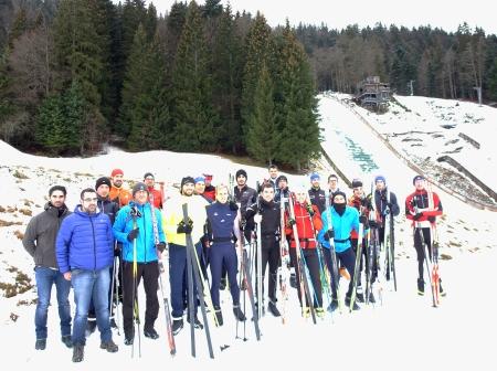 Stage de ski à Prémanon